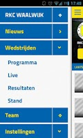 Screenshot of RKC WAALWIJK LIVE