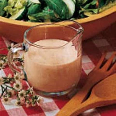 Creamy Garlic French Dressing