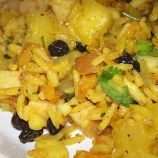 Curried Rice and Fruit Salad