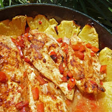 Tropical Baked Chicken