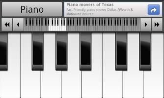 Screenshot of Musical Piano