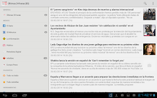 Screenshot of Noticias Libres (Boicot AEDE)