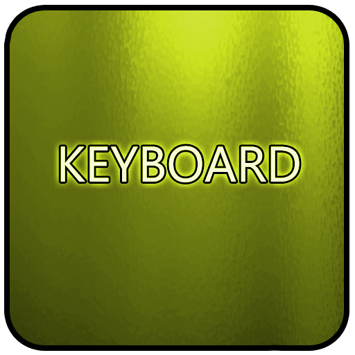 Yellow Glass Keyboard Skin LOGO-APP點子