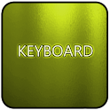 Yellow Glass Keyboard Skin icon