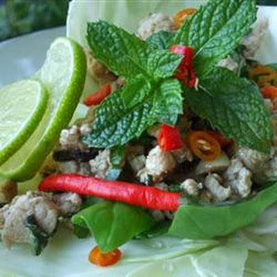 Larb - Laotian Chicken Mince
