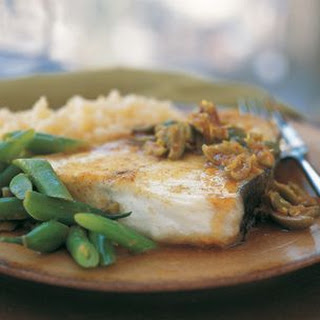 Seared Halibut with Couscous