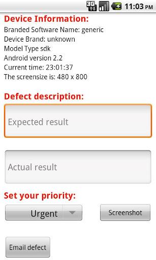 Debugger App for UAT