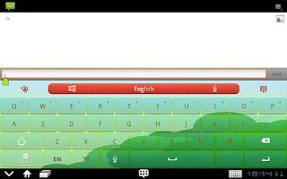 Screenshot of GO Keyboard LittleRedCap(Pad)