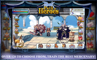 Screenshot of Ragnarok : Path of Heroes