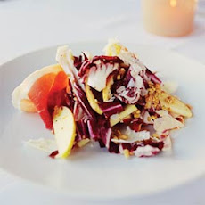 Radicchio and Apples in Pine-nut Vinaigrette