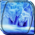Frozen Waterfall LWP 2.0 icon