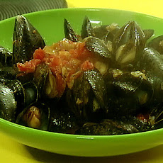 Mussels in Mexican Beer