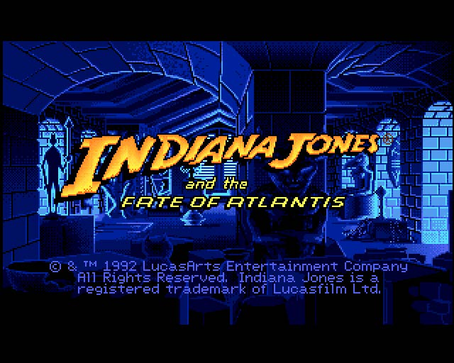 Past Masters: Indiana Jones and the Fate of Atlantis