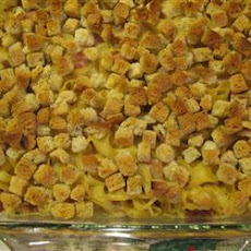 Easy Ham and Swiss Casserole