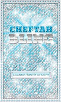 Screenshot of ♦BLING Theme♦ Teal Cheetah SMS