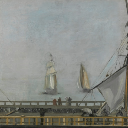 The Jetty of Boulogne-sur-Mer (1868)