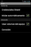 Screenshot of Sitatel Softphone