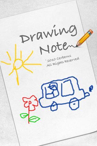 玩媒體與影片App|Drawing Note 畫筆記免費|APP試玩