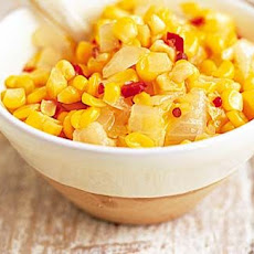 Sweetcorn and chilli BBQ relish