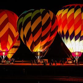 Balloon Glow by Ron Meyers - Transportation Other