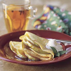 Crepes with Lemon Zabaglione