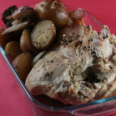 Beer Braised Turkey with Potatoes