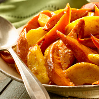 Spice-roasted Sweet Potatoes & Apples