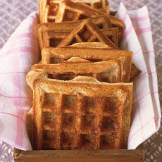 Banana-Nut Buttermilk Waffles