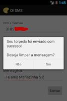Screenshot of SMS Grátis Oi