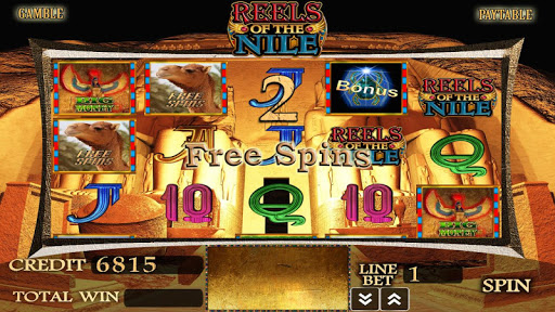 Reels Of The Nile Slot Machine - screenshot