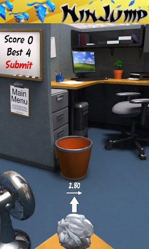 paper-toss for android screenshot