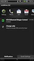 Screenshot of ICS+ Enhanced Ringer Control