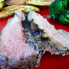 Lavender-Marinated Leg of Lamb