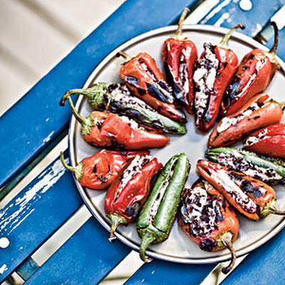 Red-Hot Stuffed Chiles