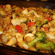 Brown Rice Vegetable Casserole