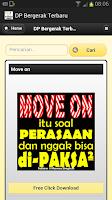 Screenshot of DP Bergerak Terbaru