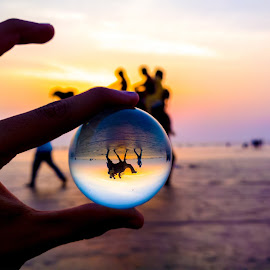 Through my crystal ball by Husain Ujjainwala - People Body Parts