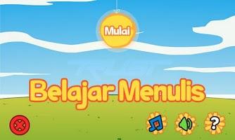 Screenshot of Belajar Menulis