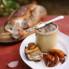 Bette's Chicken-Liver Pate with Sauteed Maple Syrup Apples