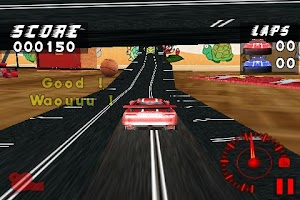 Screenshot of eXtremeSlotRacing Free