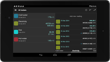 Screenshot of Smart Meters