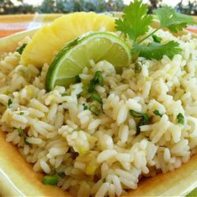 Pineapple-Lime Rice