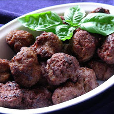 Spicy Speculaar  Dutch Meatballs