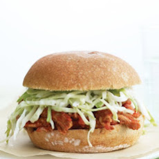Lighter Pulled Pork Sandwiches