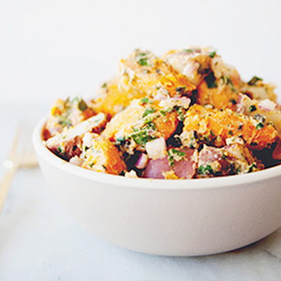 Spicy Yam Potato Salad