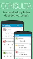 Screenshot of LotoCheck Loterias