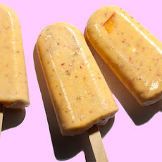 Peaches 'n' Cream Ice Pops