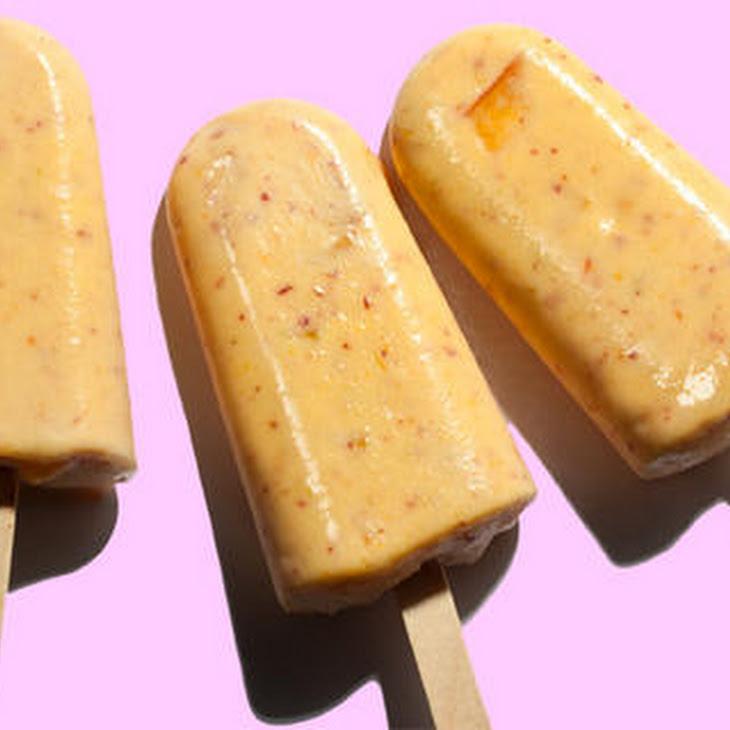 Peaches 'n' Cream Ice Pops Recipes — Dishmaps