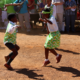 Young ones learing to Rieldans ...  by Desiree Havenga - Sports & Fitness Other Sports (  )