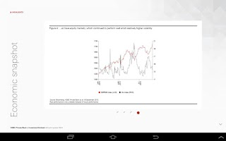 Screenshot of HSBC Investment Outlook